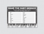 Baby Animals Name Game Wi...