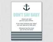 Nautical Don't Say Ba...
