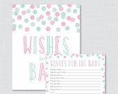 Pink and Mint Wishes for ...