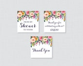Floral Baby Shower Printa...