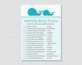 Whale Baby Shower Celebri...