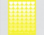 Yellow Printable Guest Bo...