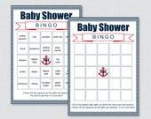 Nautical Baby Shower Bing...
