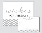 Printable Glitter Wishes ...