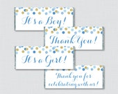 Blue and Gold Printable C...