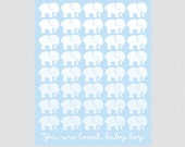 Blue Elephant Baby Shower...