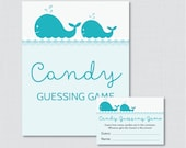 Whale Baby Shower Candy G...