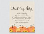 Pumpkin Don't Say Bab...