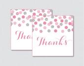 Pink and Gray Printable F...