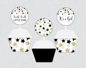Star Baby Shower Cupcake ...