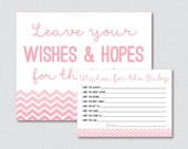 Wishes for Baby Chevron B...