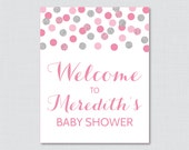 Pink and Gray Baby Shower...