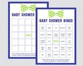 Bow Tie Baby Shower Bingo...