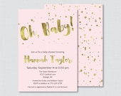 Pink and Gold Baby Shower...