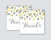 Yellow and Gray Printable...