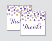 Printable Purple and Gold...