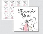 Printable Stork Baby Show...