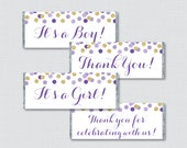 Purple and Gold Printable...