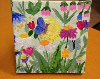 Small Floral Painting