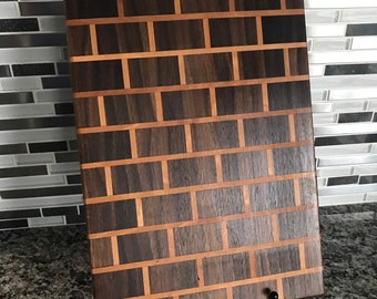 brick cutting board etsy