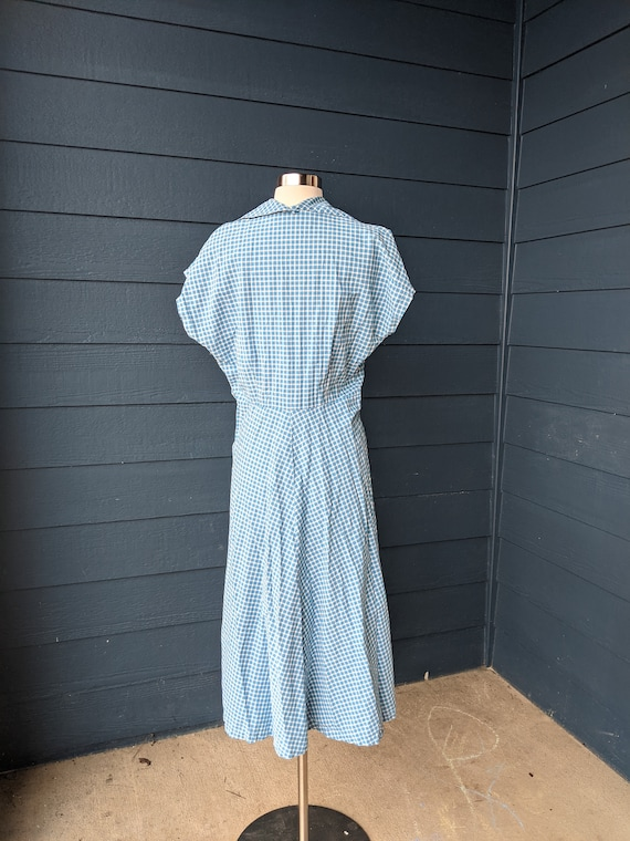 Vintage 1940s/50s Plaid Dress - image 10