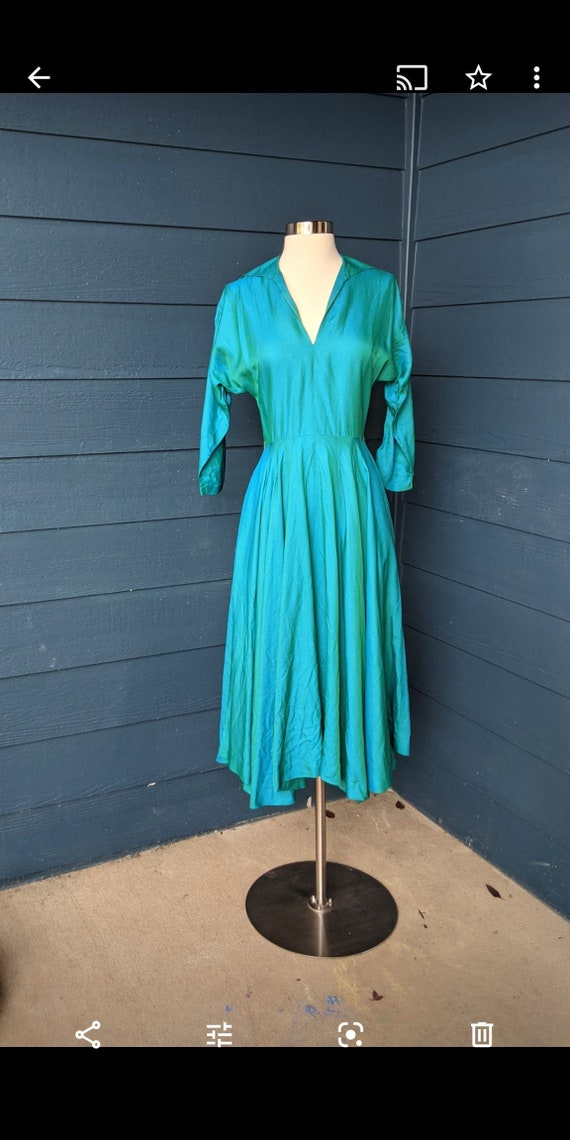Vintage 1950s Cocktail Dress