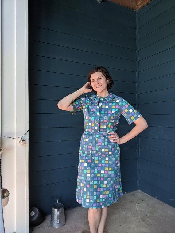 Vintage 1960s Day Dress