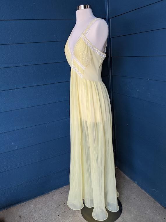 Faerie Surelock Crystal Pleated Nightgown - image 3