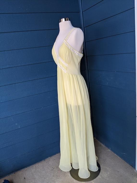 Faerie Surelock Crystal Pleated Nightgown - image 9