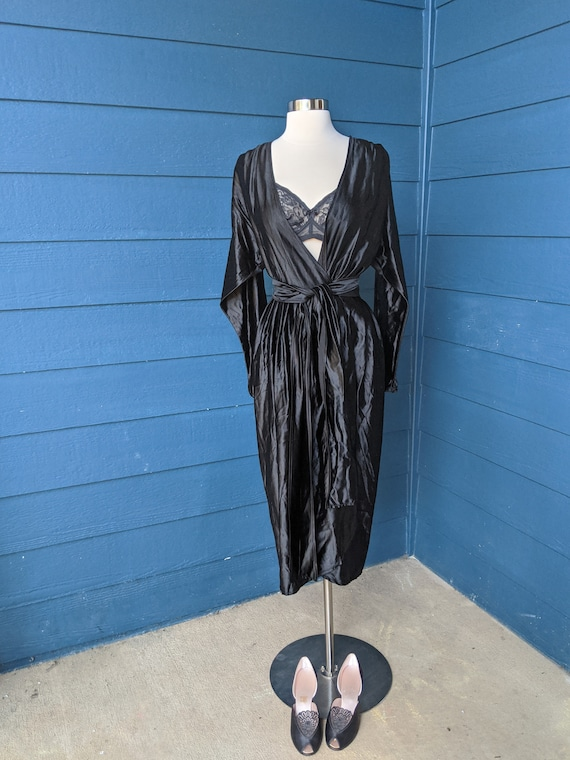 Vintage 1940s Wrap Dress/Robe