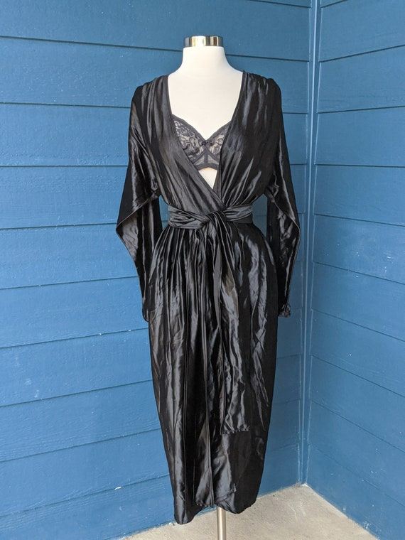 Vintage 1940s Wrap Dress/Robe - image 6