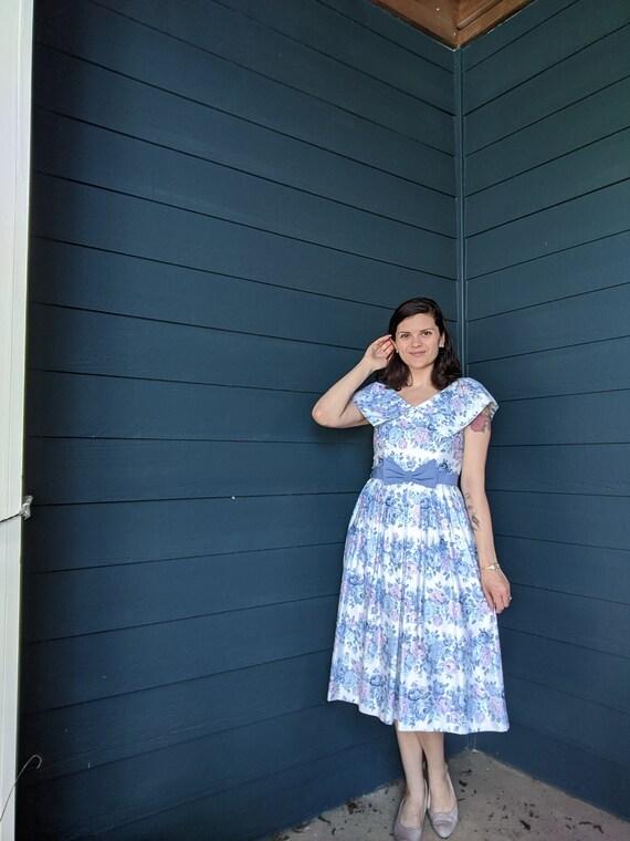 Vintage Lanz Tea Dress