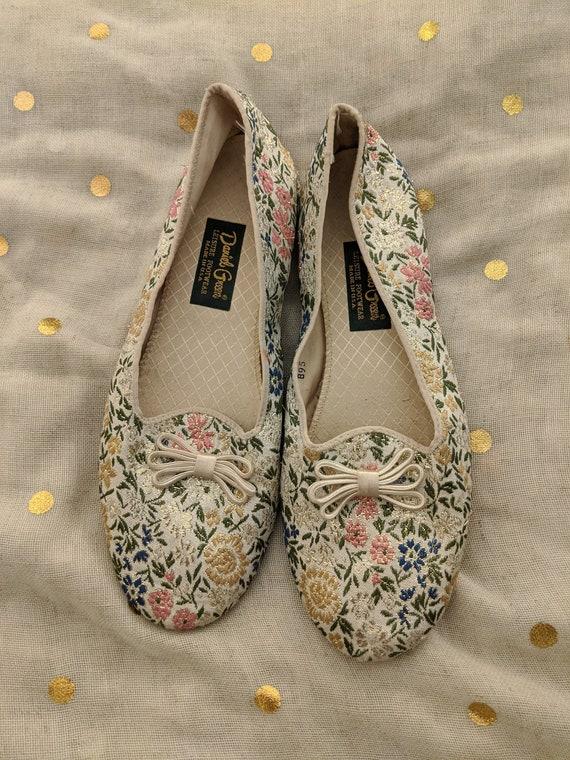 1960s Daniel Green Bedroom Vintage Slippers