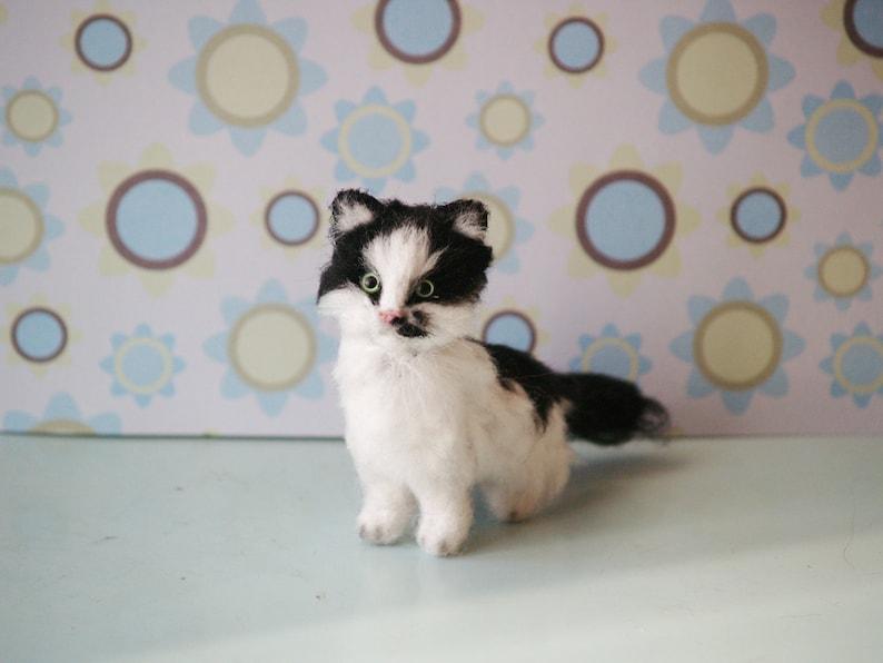 Cat gifts Custom cat portrait Cat memorial Personalized pet image 0