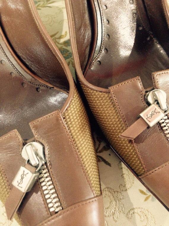 YSL vintage shoes | Etsy
