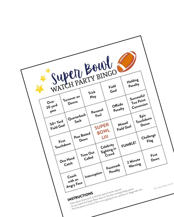 graphic relating to Printable Super Bowl Bingo Cards identify Tremendous Bowl Bingo, Tremendous Bowl Bash Activity, Tremendous Bowl Look at Get together, Soccer Activity Printable