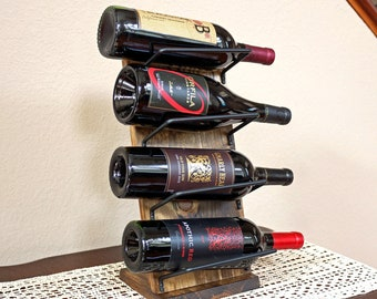 Tabletop Wine Rack Etsy