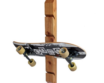 0dcd09c4 Skateboard Rack Wall Mounted Holder & Organizer | Skateboard Gifts