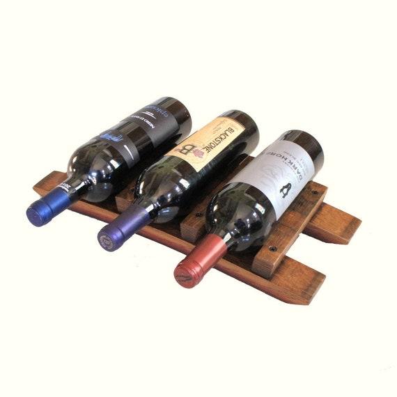 Countertop Wine Rack Tabletop Wine Rack Wooden Wine Bottle Etsy