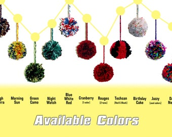 Handmade YARN BALL for cats, cat play toy, yarn toy ball, cat toy, various colors, cat ball