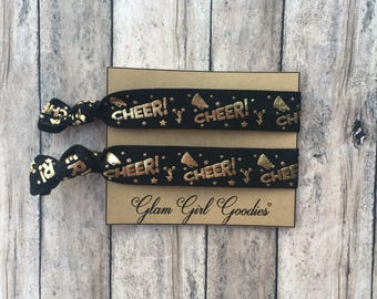 Cheer Team Favors and gifts,Cheer hair ties,Red Cheer,Cheer gifts,Cheer team,Personalized cheer team gifts,Customizable cheer team favors,
