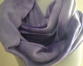 Tie Dye Purple Fleece Infinity Scarf, Purple Fleece Scarf, Purple Scarf, Purple Infinity Scarf, Gift for Her, Gift under 25, FREE SHIPPING