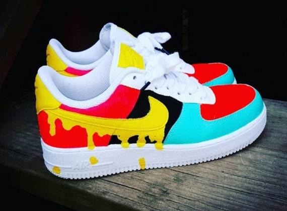 Custom Nike Summer Melt Air Force 1