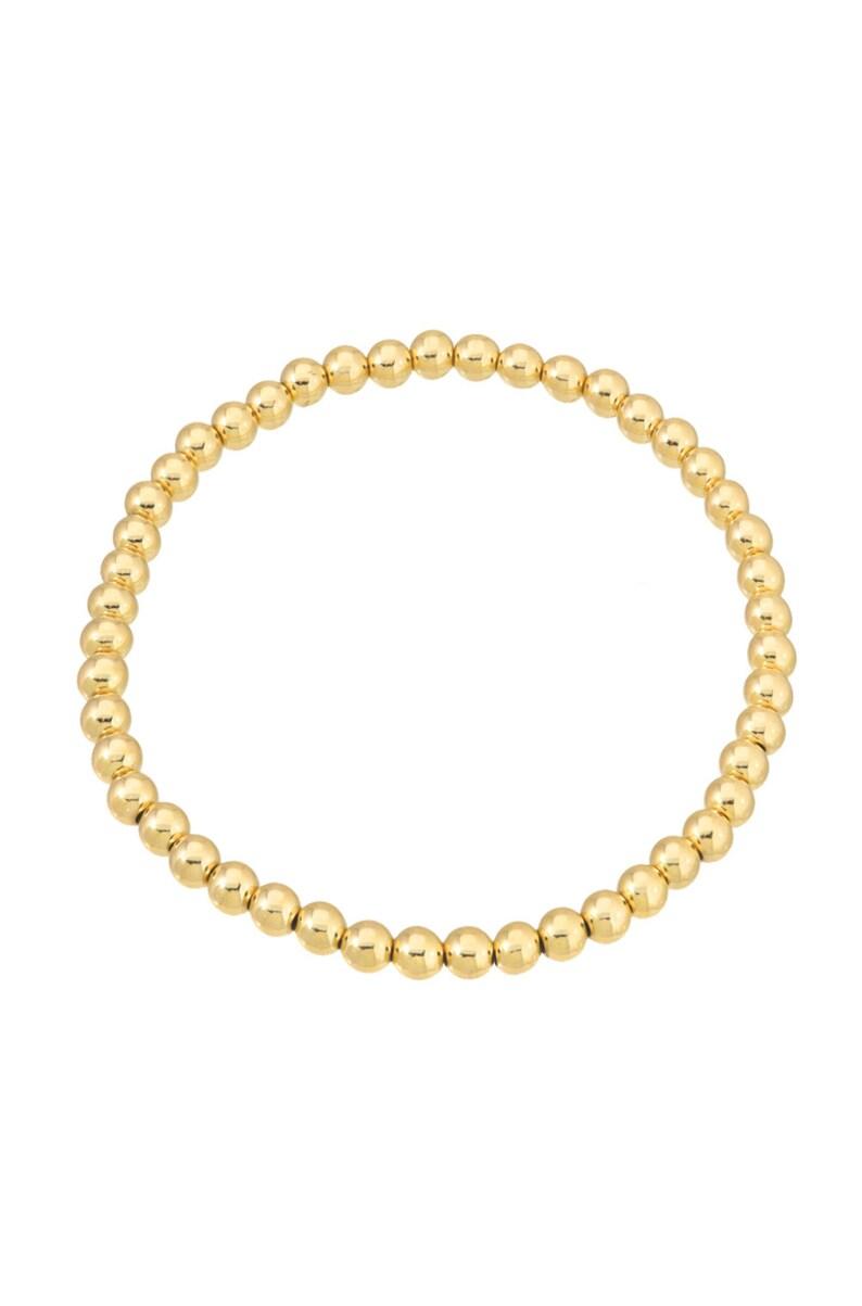 4mm Bead Bracelet image 0