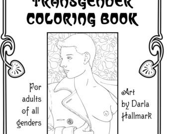 A Transgender Coloring Book