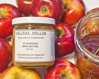 Honey Apple Butter- Fruit Butter - Foodie Gifts and Gourmet Food