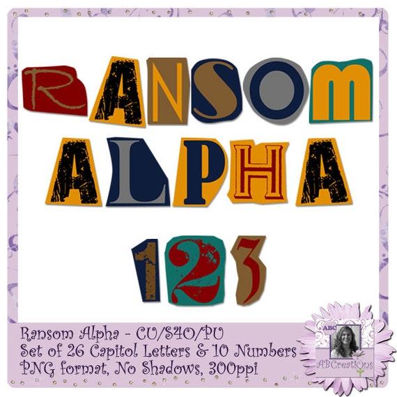 Ransom alphabet font text halloween creepy cut out etsy image 0 spiritdancerdesigns Choice Image