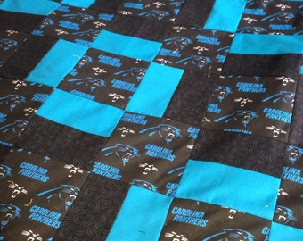 Carolina Panthers Quilt d9e1f1093