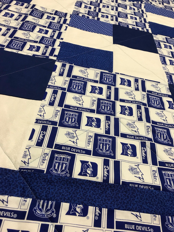 Duke blue devils quilt etsy jpg 2250x3000 Duke blue devils lingerie 321a9268c