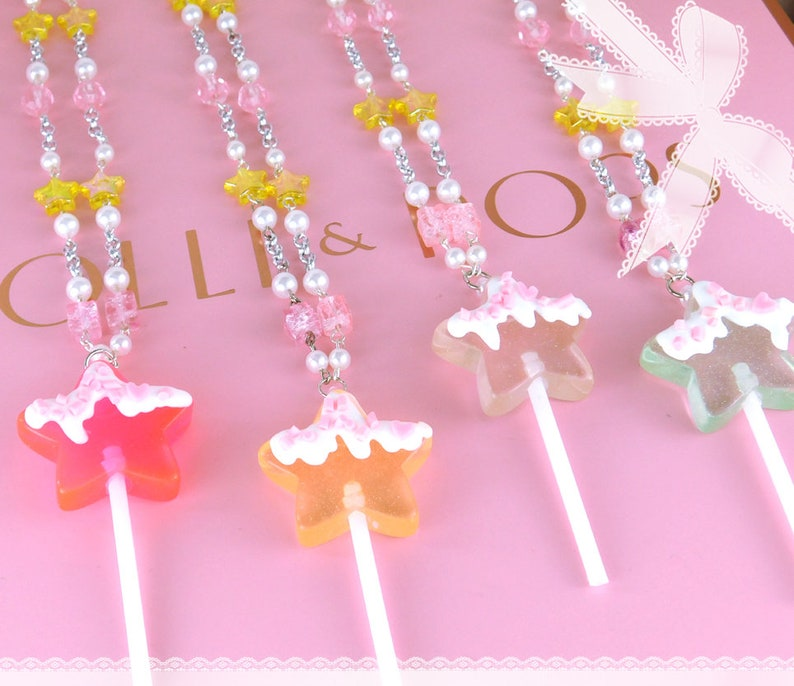 Star Candy Sugar Necklace image 0